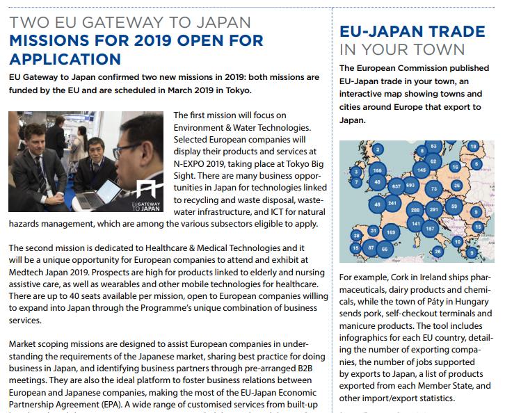 Ireland Japan Association   EU-Japan News – October 2018 Issue